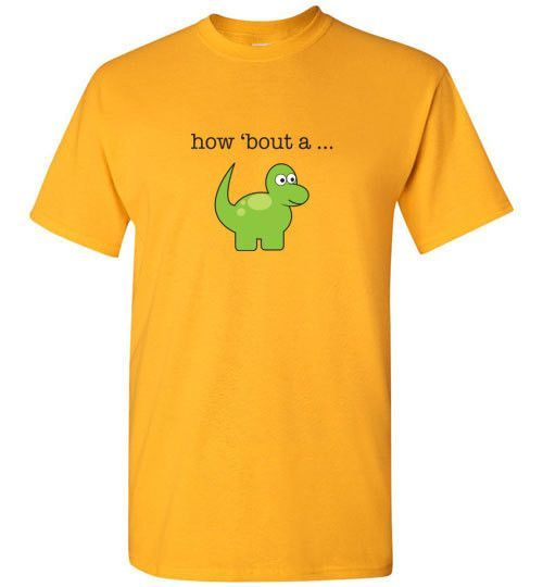 Kids how 'bout a dinosaur T-shirt