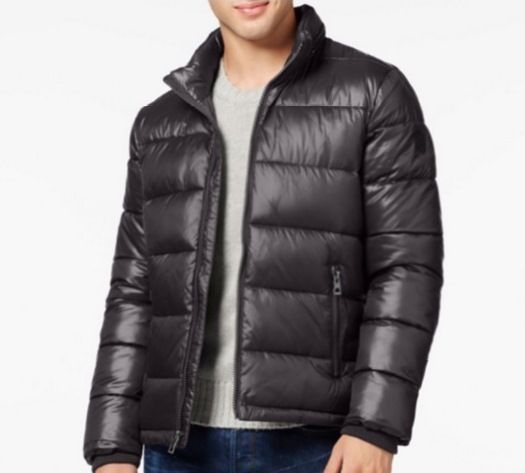 6facaf1f2 Guess Men's Basic Puffer Jacket Black Size XXL #Guess #Puffer | Buy ...