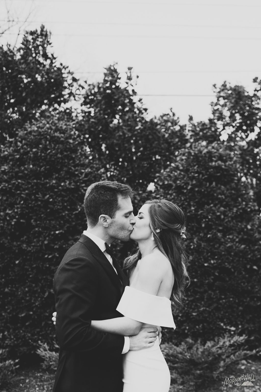 Romantic Black and White Wedding Photos in 2020 Nc