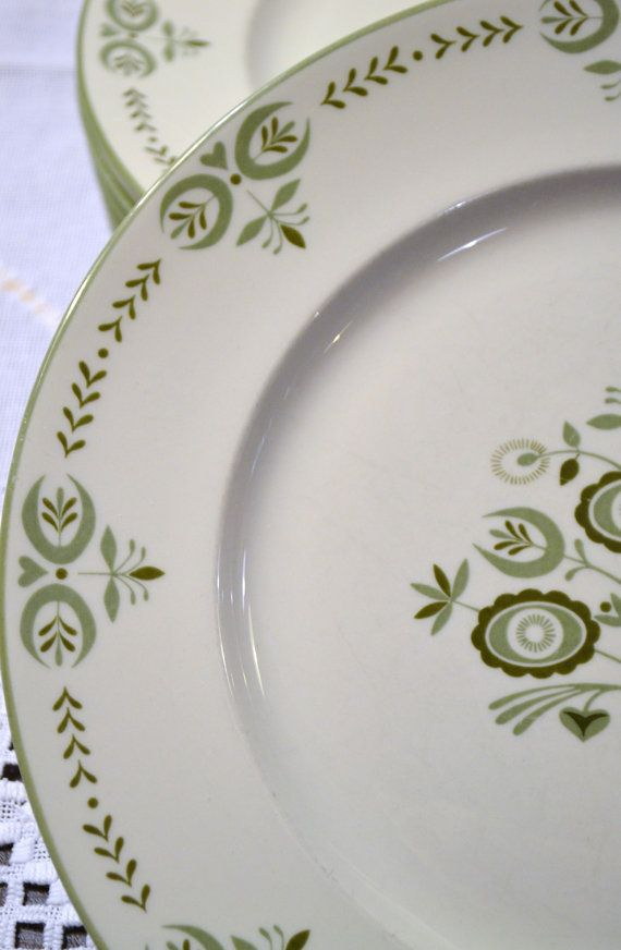 Franciscan China Heritage Pattern Dinner Plate Set by PanchosPorch
