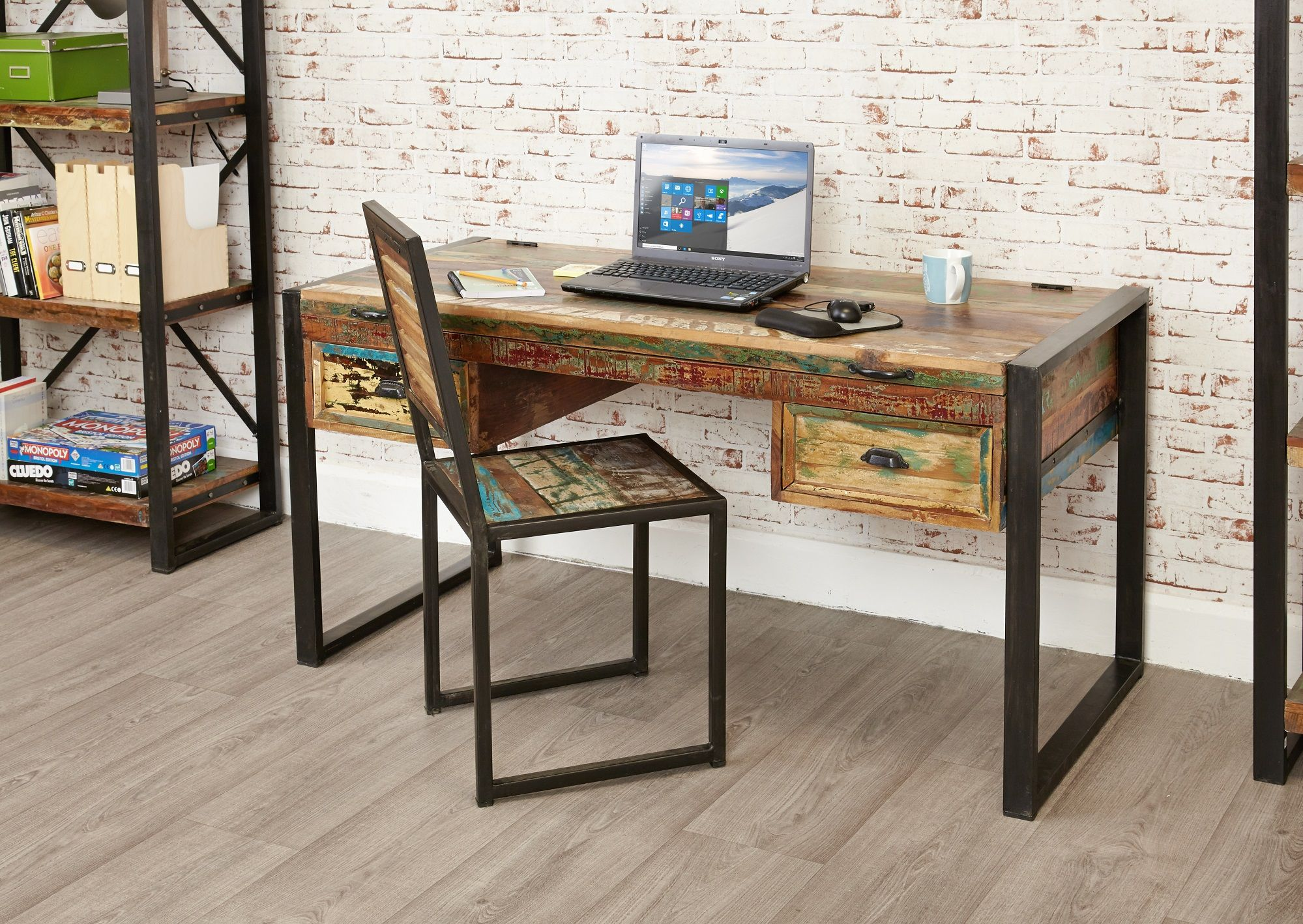 Charmant Everyone Loves A Versatile Piece Of Furniture, And Our Industrial Chic Desk  / Dressing Table