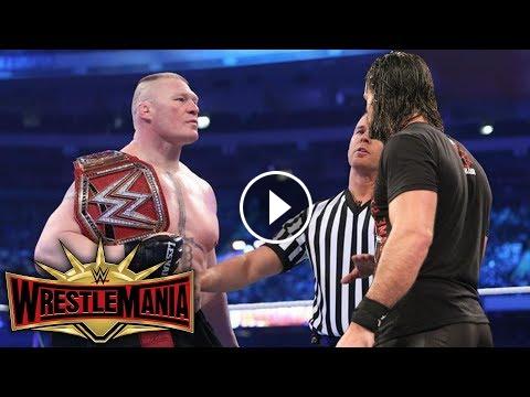 Brock Lesnars Wwe Wrestlemania 35 Opponent Revealed Wwewwe