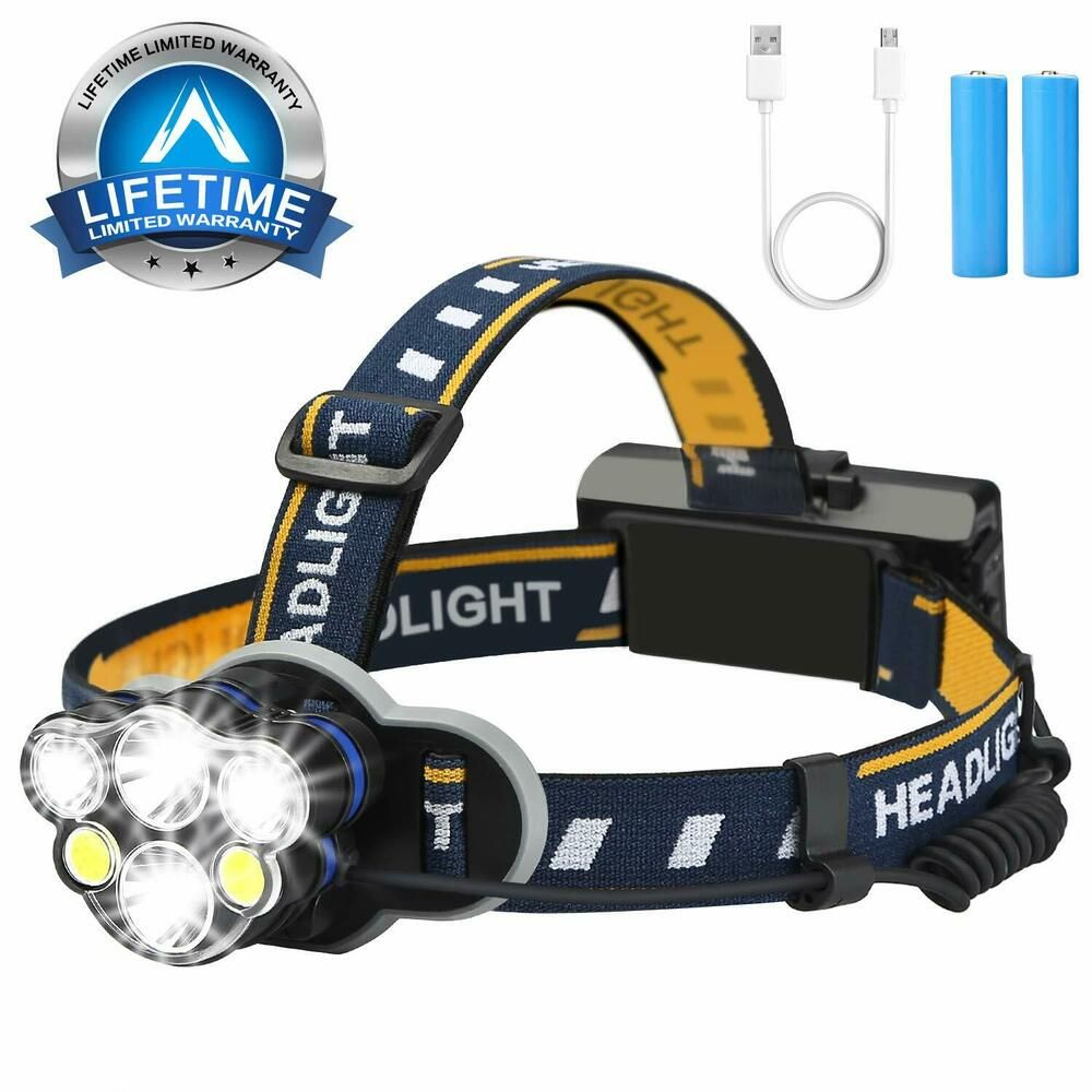 T6 LED 18650 Rechargeable Headlamp Head Light Camping Flashlight Torch Work Lamp