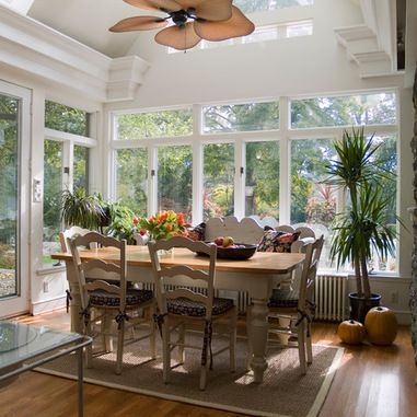 Sunroom Dining Room Ideas Sunrooms With Half Vaulted Ceiling With Skylights Design Ideas