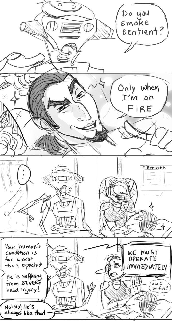SW Rebels: On Fire by carrinth.deviantart.com on @DeviantArt
