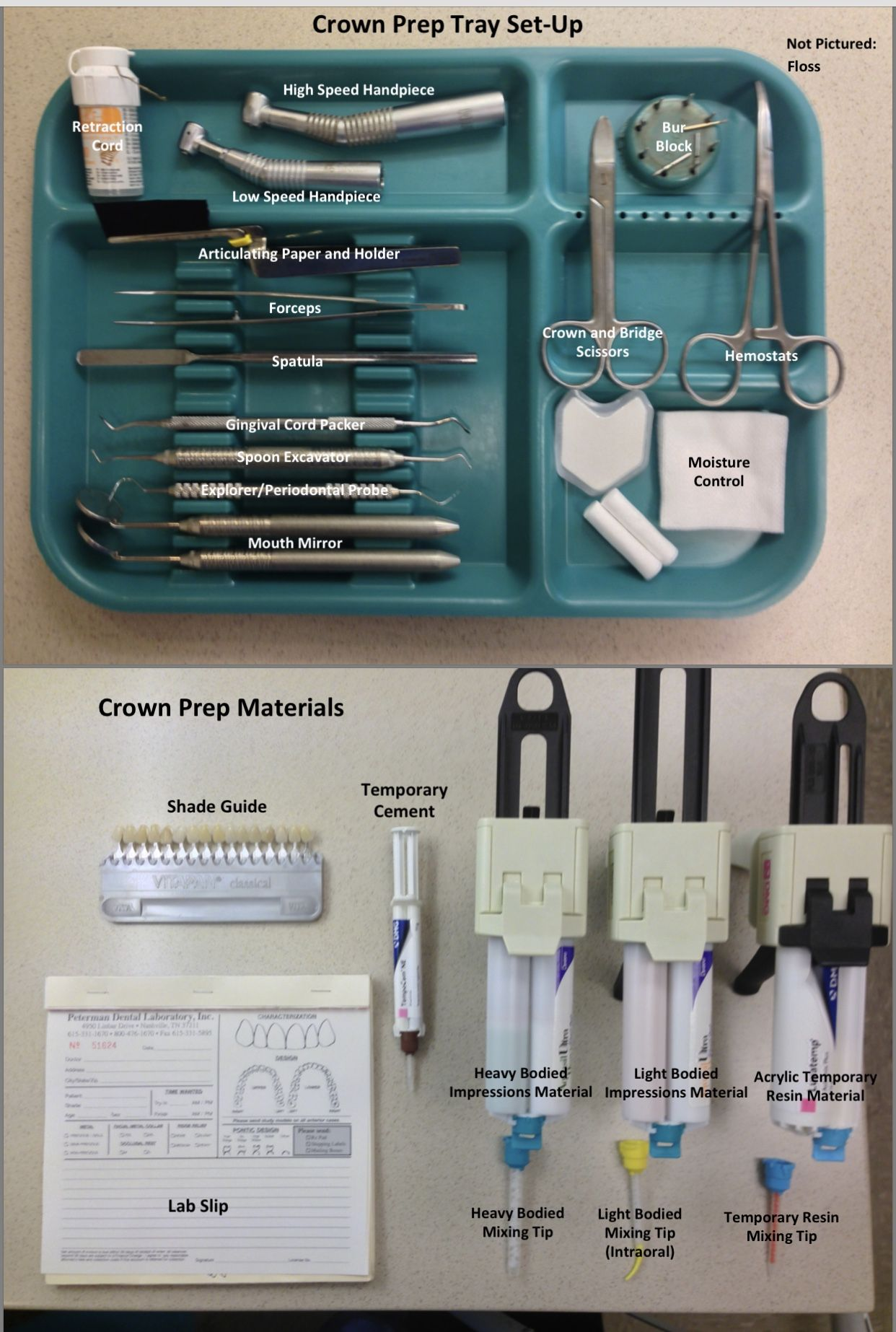 Set up for dental #dentalassistant