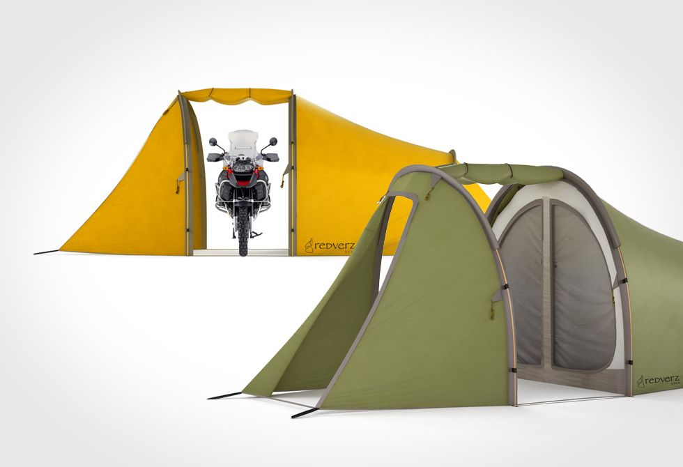 The Series Ii Expedition Tent By Redverz Motorcycle Tent Tent Adventure Bike