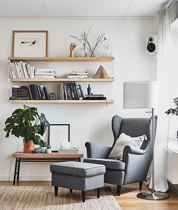 Met veel textiel geef je de woonkamer een huiselijke sfeer | IKEA ...
