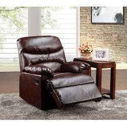 ACME 59016 Arcadia Recliner Cracked Brown Bonded Leather *** See this great product.Note:It is affiliate link to Amazon.