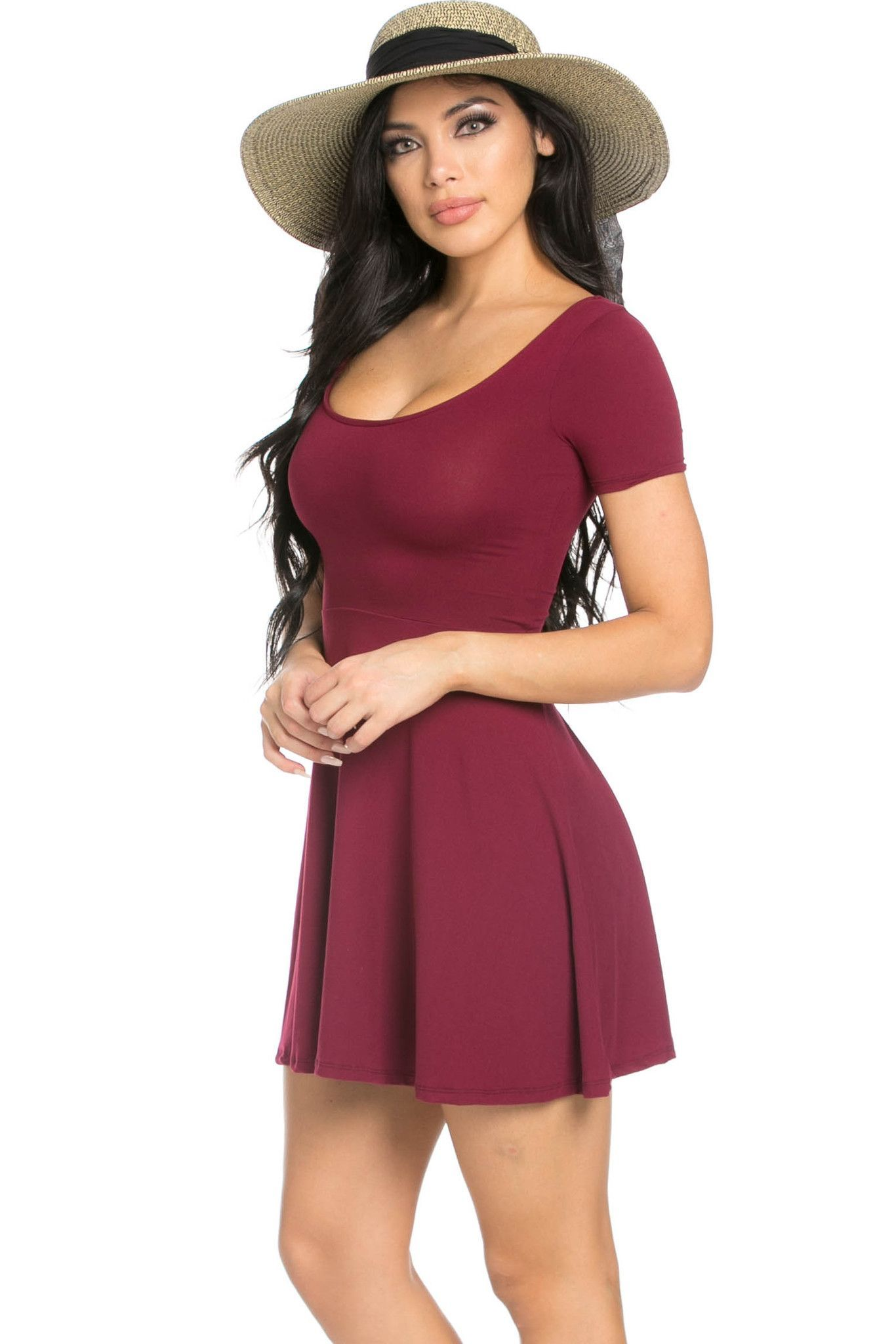 Microsuede Dresses