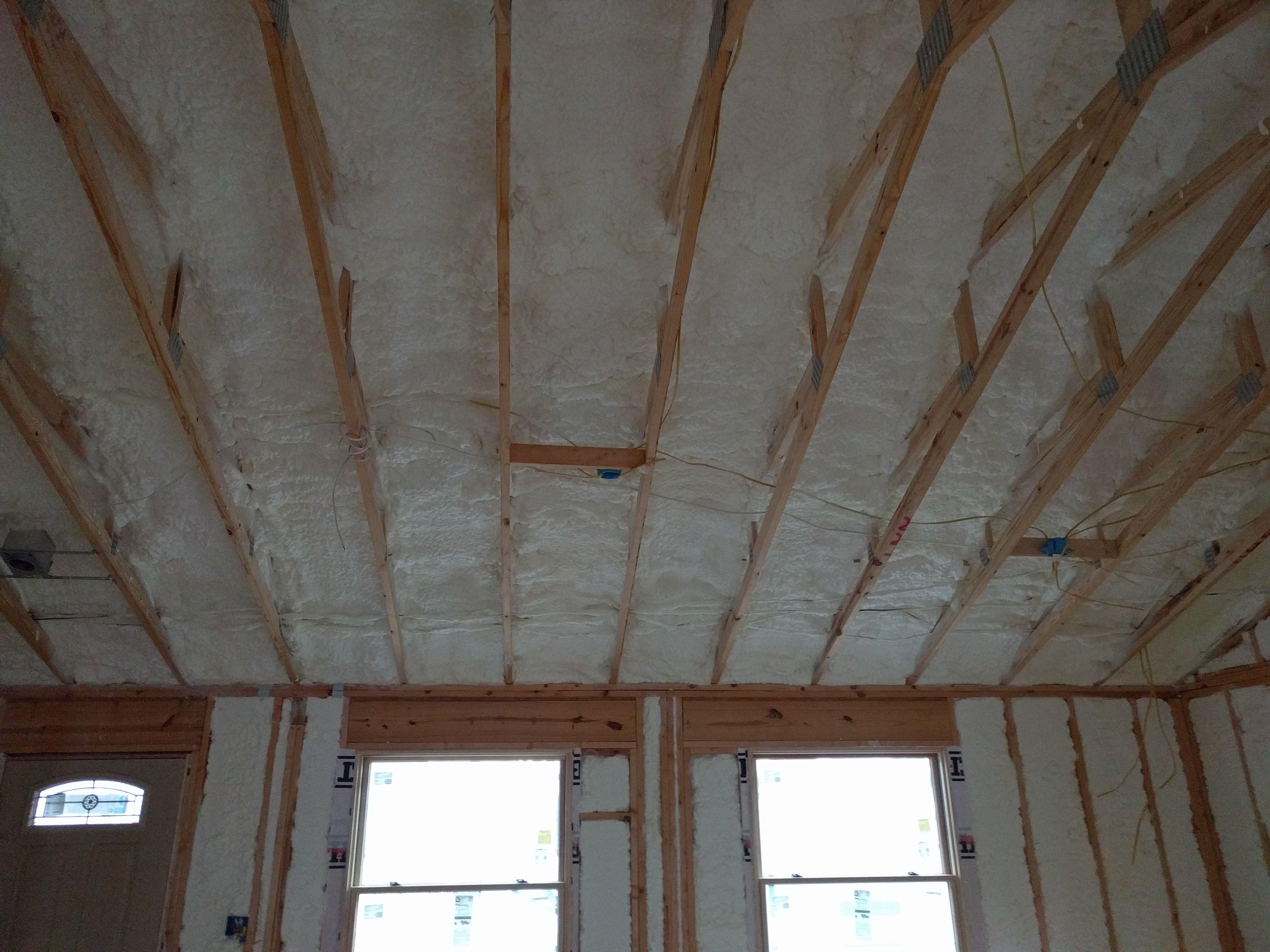 Spray Foam Roof Insulation Uk
