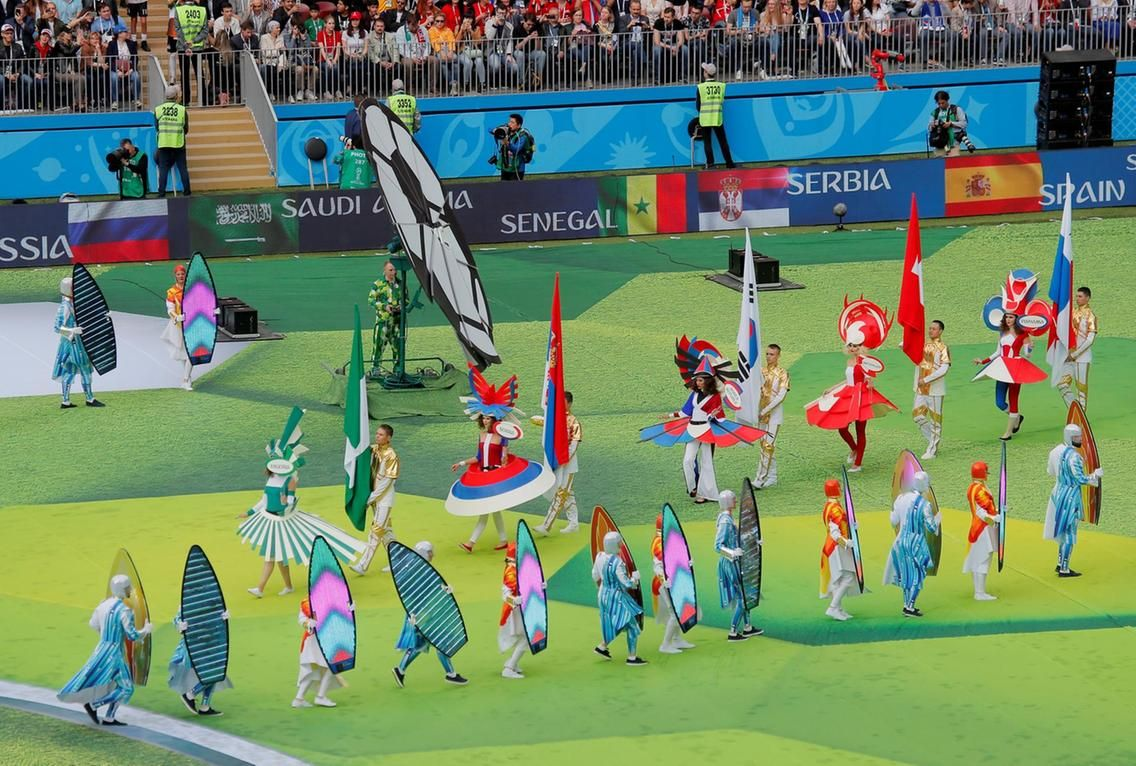 World Cup 2018 Opening Ceremony World Cup Fifa World Cup World