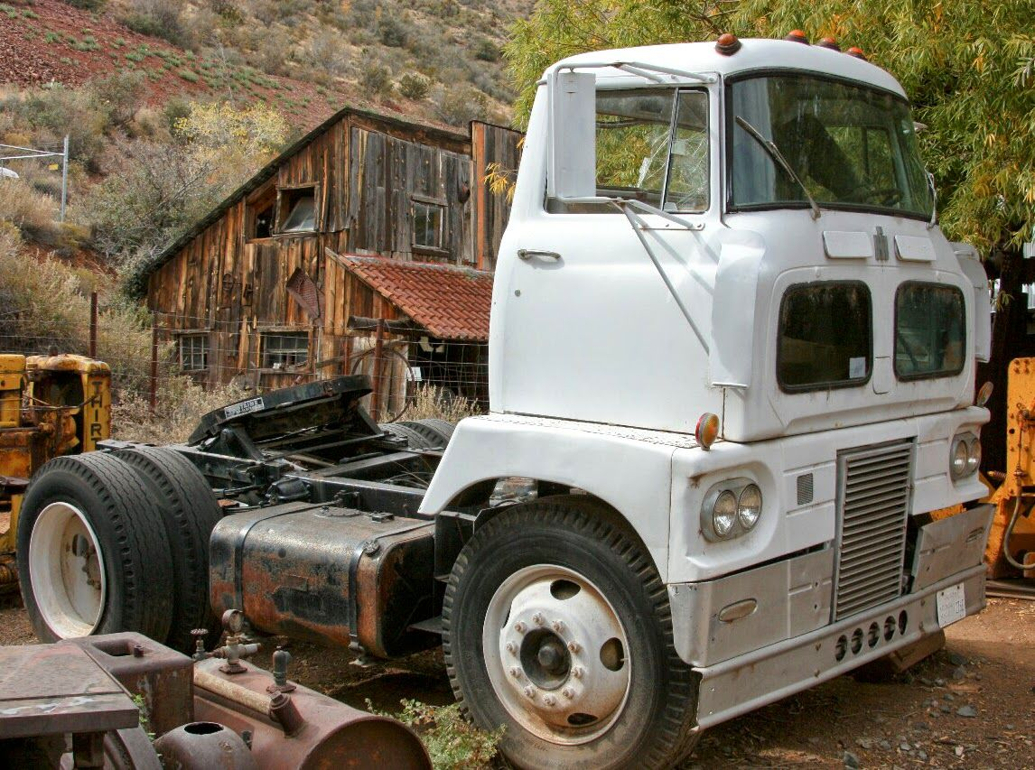 Antique International Harvester Wagon : International harvester coe american trucks