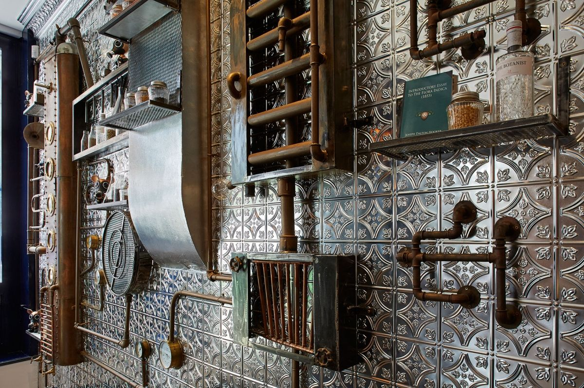 andy thornton supplies metal and tin tiles for commercial interiors in a range of finishes and designs authentic tin tiles from andy thornton