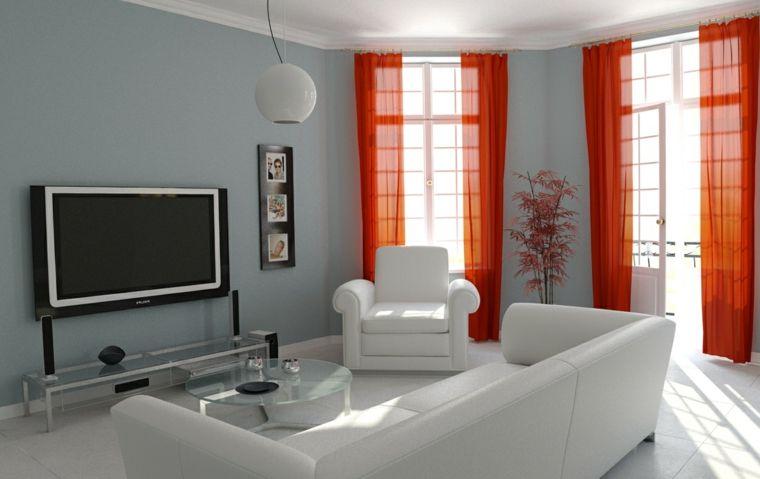 Cortinas modernas para salon 24 dise os originales sal n dise o y decoraci n de sal n - Cortinas originales para salon ...