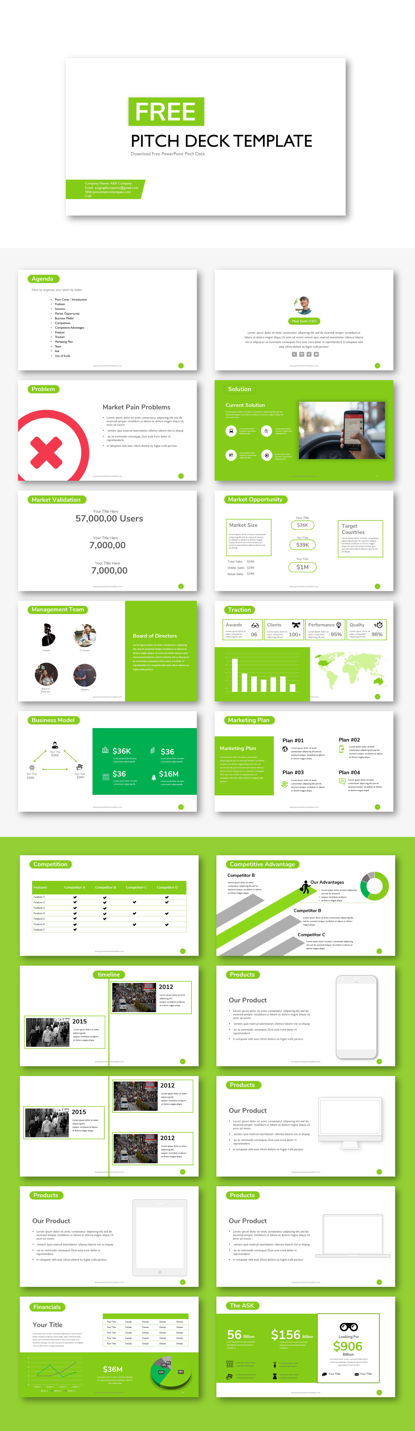 Free pitch deck powerpoint template free pitch deck powerpoint free pitch deck powerpoint template toneelgroepblik Image collections