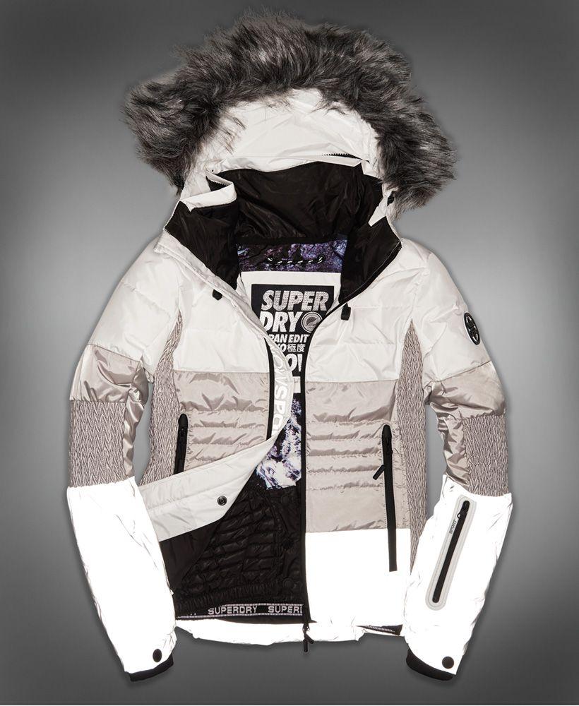 Veste de ski femme mode
