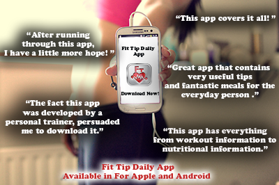 Download Our Very Own Fit Tip Daily App Fitness Tips Sent Directly