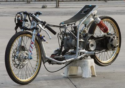 Gambar Modifikasi Motor Drag Mio Motor Ninja Gambar