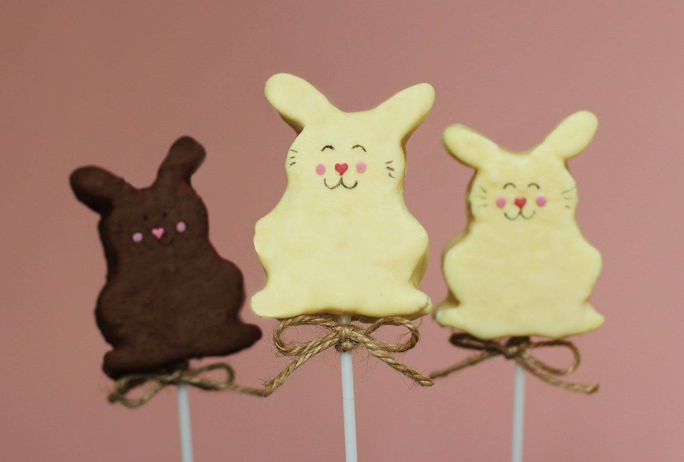 Very cute and very yummy caramel marshmallow bunny pops perfect very cute and very yummy caramel marshmallow bunny pops perfect little easter giftsfavours negle Choice Image