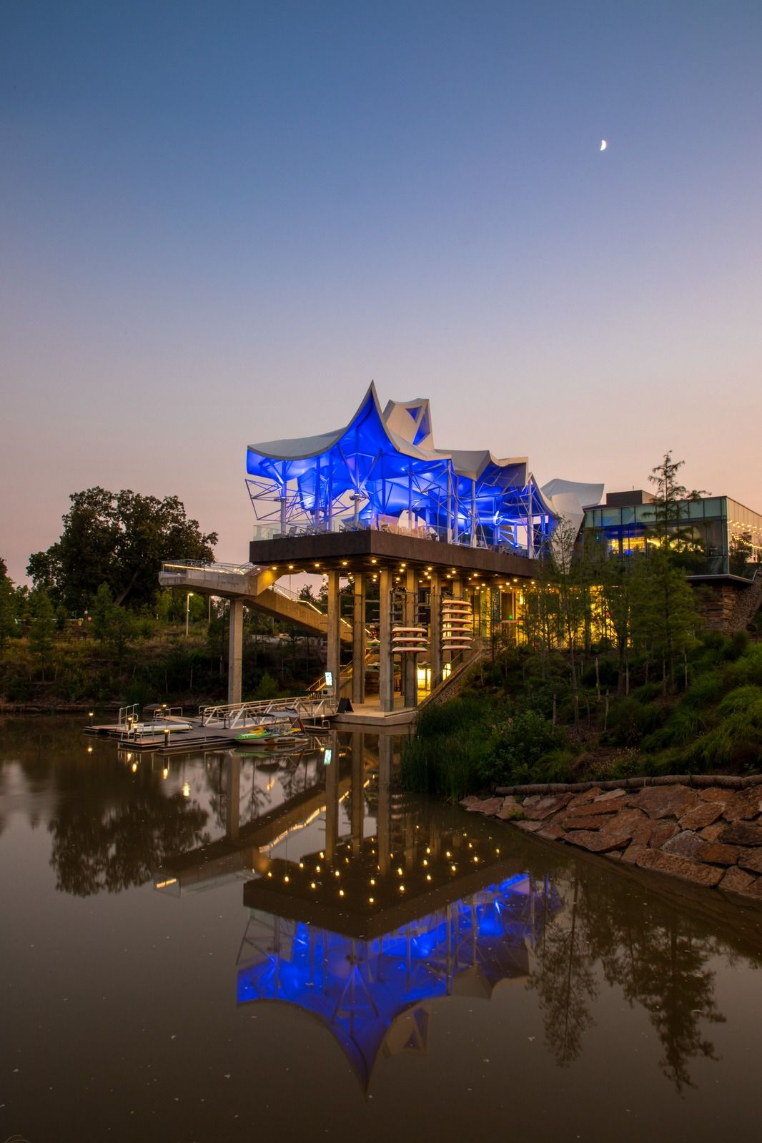 This awardwinning park in tulsa offers 70 acres of family