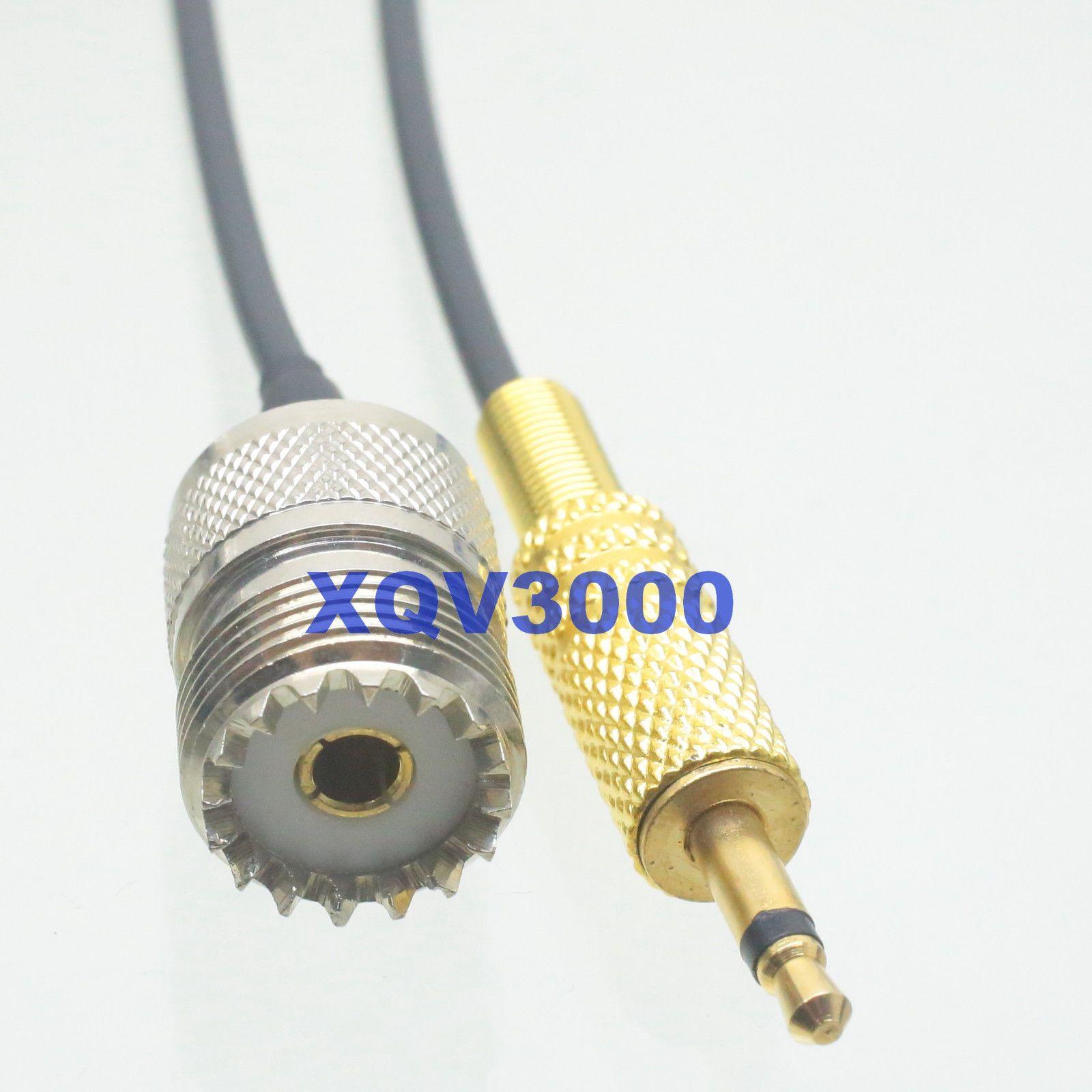 87 35mm 1 8 Mono Male Plug To So239 Uhf Female Jack Rg174 3m Wiring