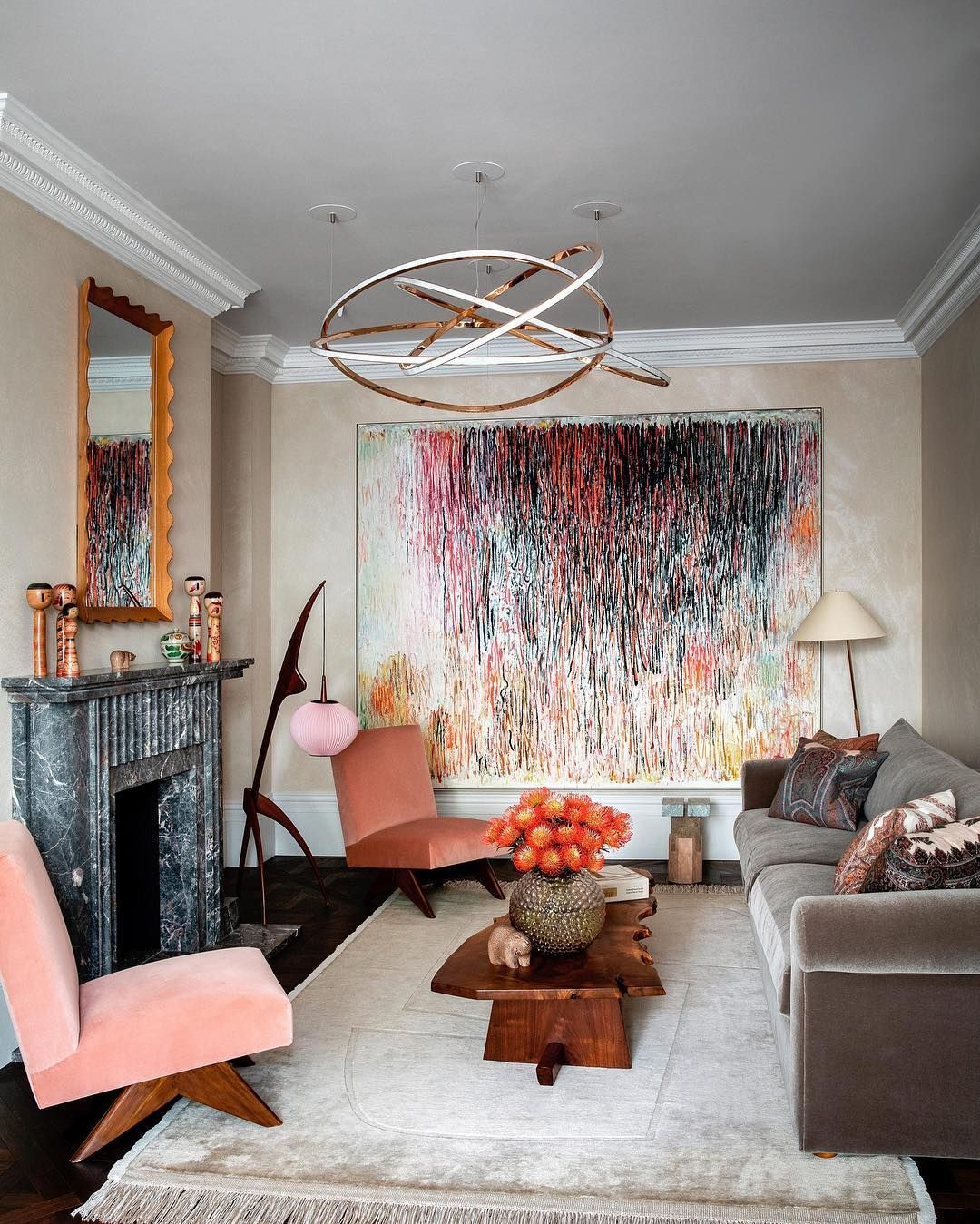 "Family Rooms We Love: Architectural Digest On Instagram: """"We Love To Entertain"