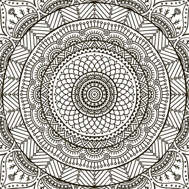 1001 Idee Per Mandala Da Colorare Con Simbologia Simboli
