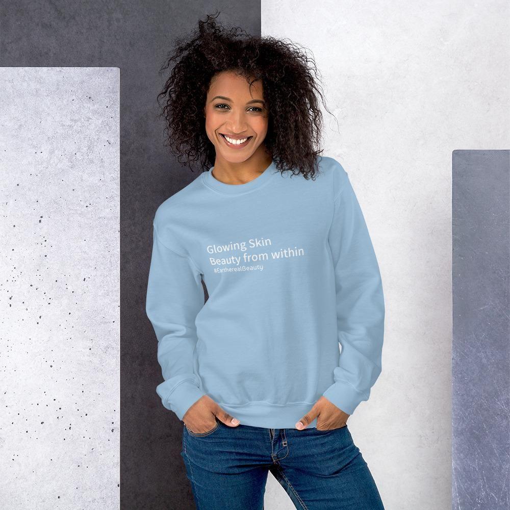 Minimalist Unisex Sweatshirt - Light Blue / 2XL