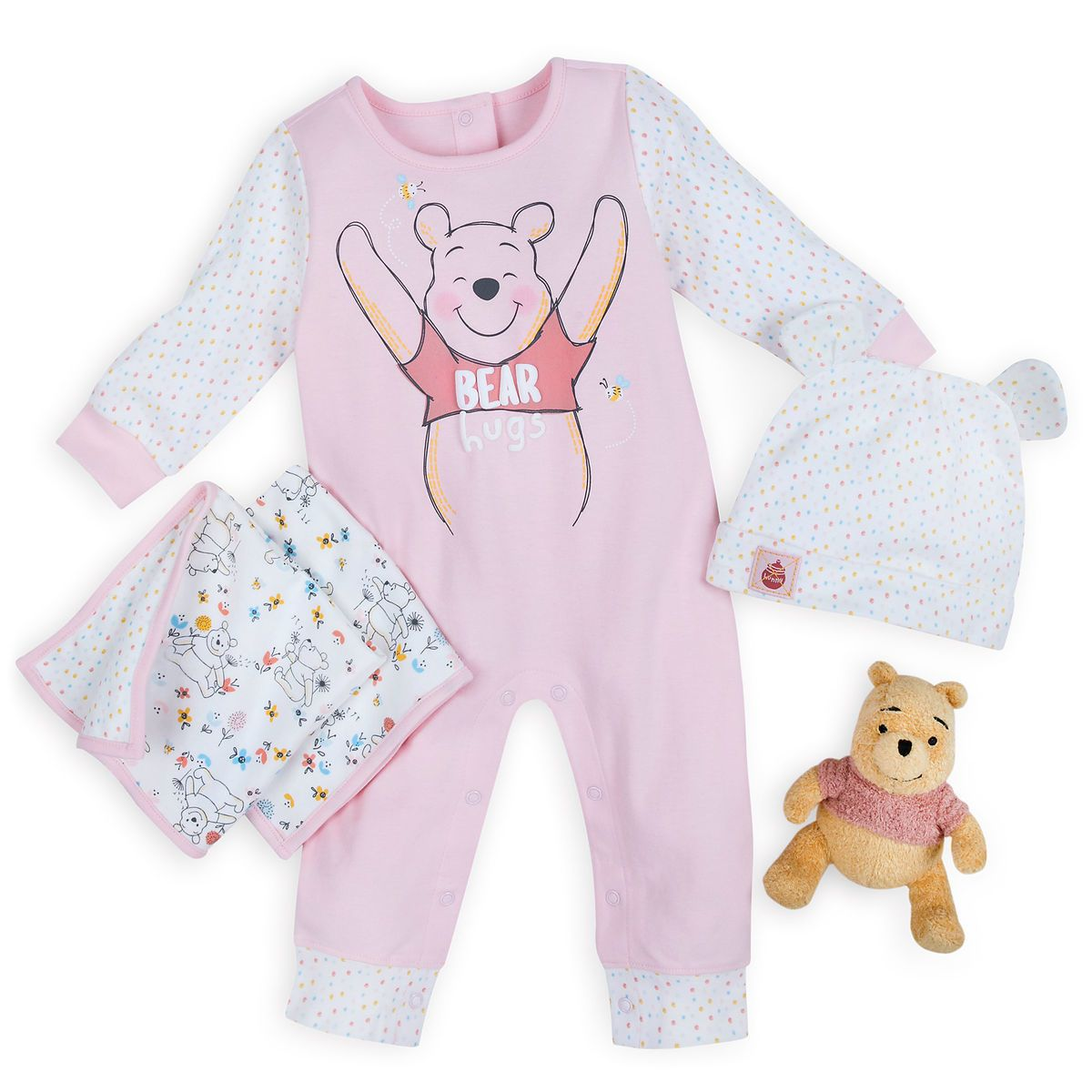 6fe84fe1f6a5 Product Image of Winnie the Pooh Gift Set for Baby - Pink   1