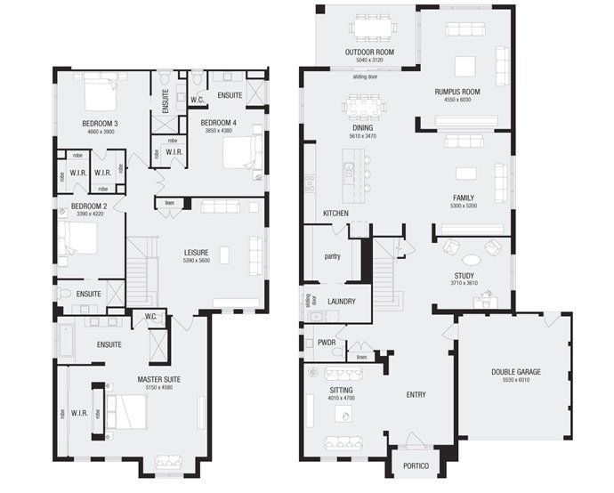 Nolan 50 New Home Floor Plans Interactive House Plans