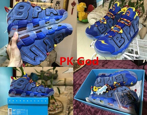 Nike Air More Uptempo Doernbecher DB legit check review original PK God  cheapest perfectkicks AH6949-