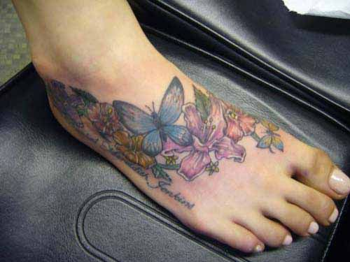 Daisy Tattoo Designs for Women | Hibiscus Flower Tattoos Designs Skin Body-Art Pictures Images Photos ...