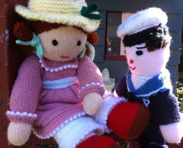 Knitted Dolls Noddy Knitting Pattern Free Download Pinterest