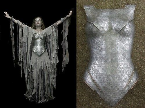 halloweencrafts: DIY Dark Galadriel Costume Tutorial... WOW - I'm impressed  :)