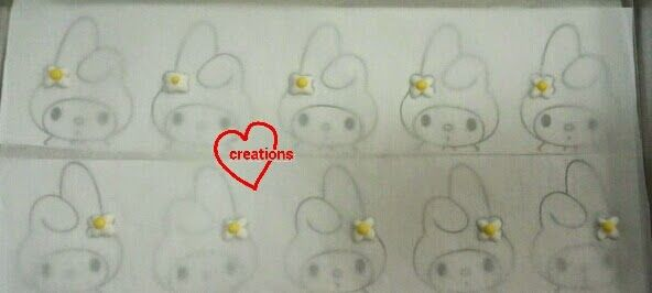 Loving Creations for You: My Melody Strawberry Macarons