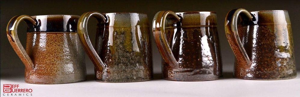 Fantastic soda-glazed mugs.