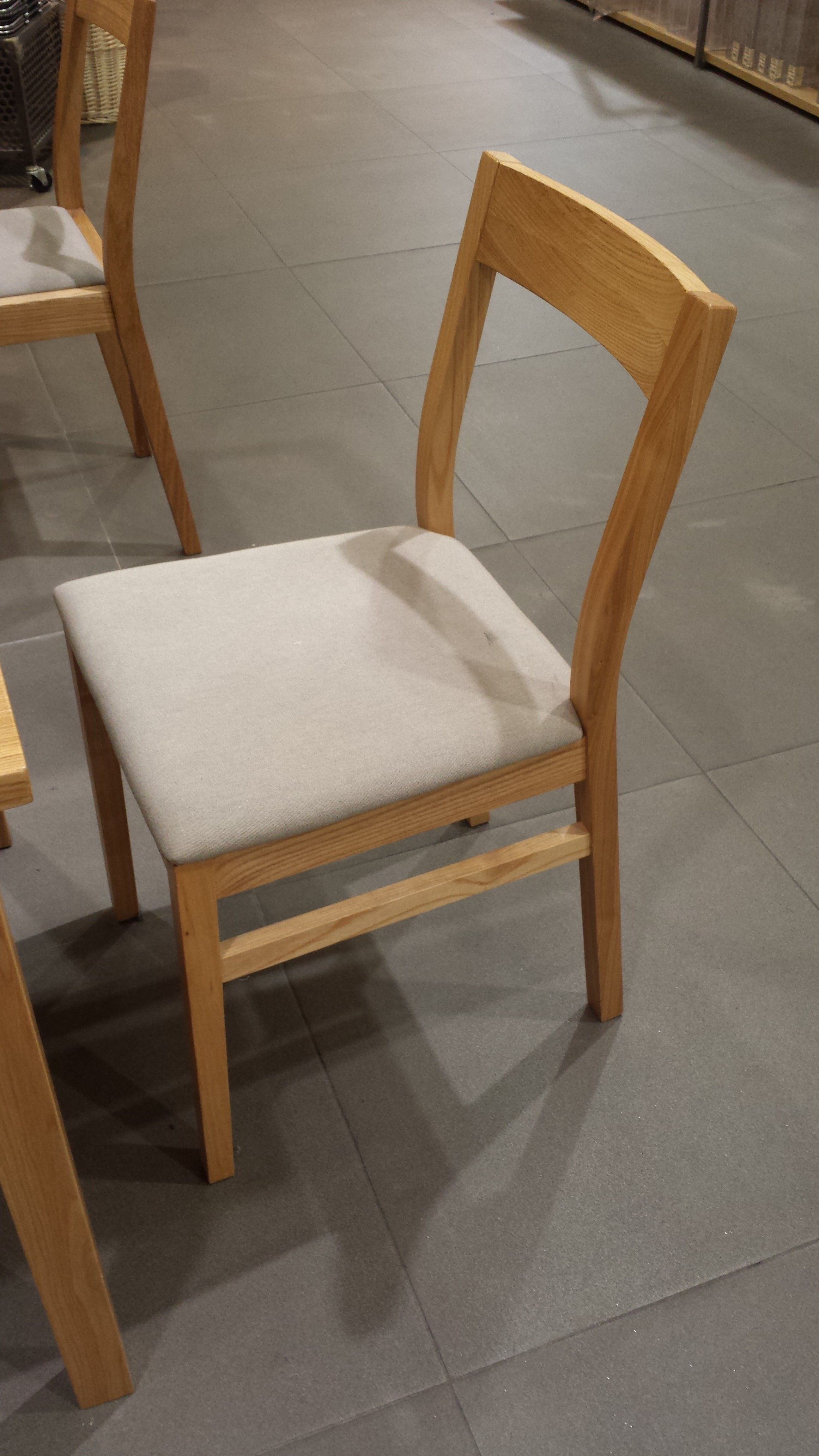 1 4m ash table from muji chairs sofa and table