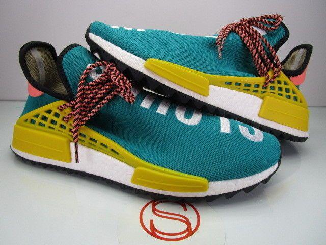 935576f6606cc Details about Adidas Hu Holi NMD PW Pink Glow Human Race Size 9 ...