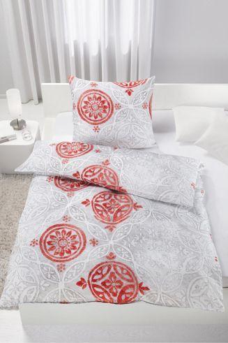 Schön Bettwäsche Im Ornamentalen Design   Stilvoll Und Dekorativ