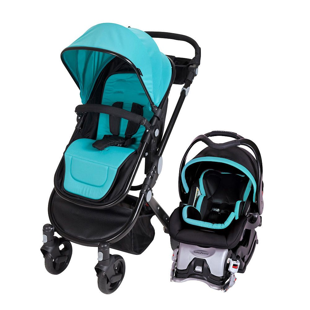 Baby Trend Shuttle Travel System Marine Blue Car Seat Stroller Combo Baby Trend Car Seat Baby Car Seats