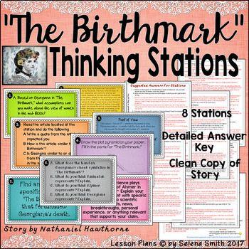 """The Birthmark"" Thinking Stations - Nathaniel Hawthorne ..."