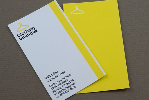 Clothing Boutique Business Card | Business cards and Business