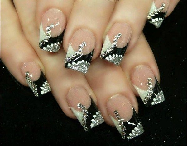 new years eve nail designs | Black Nail Designs | blacknaildesigns.com - New Years Eve Nail Designs Black Nail Designs Blacknaildesigns