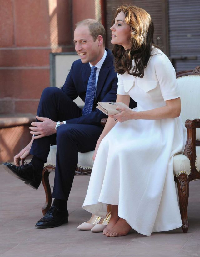 Leave Kate Middleton's Toes Alone