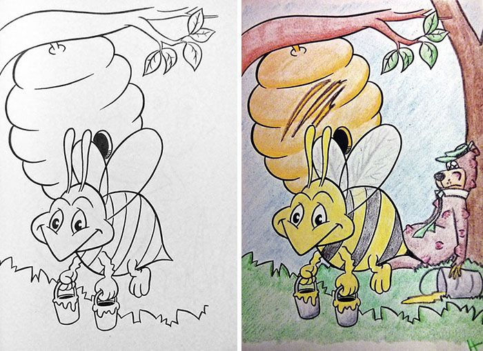 10 Times Adults Did Coloring Books For Kids And The Result Was Hilariously NSFW