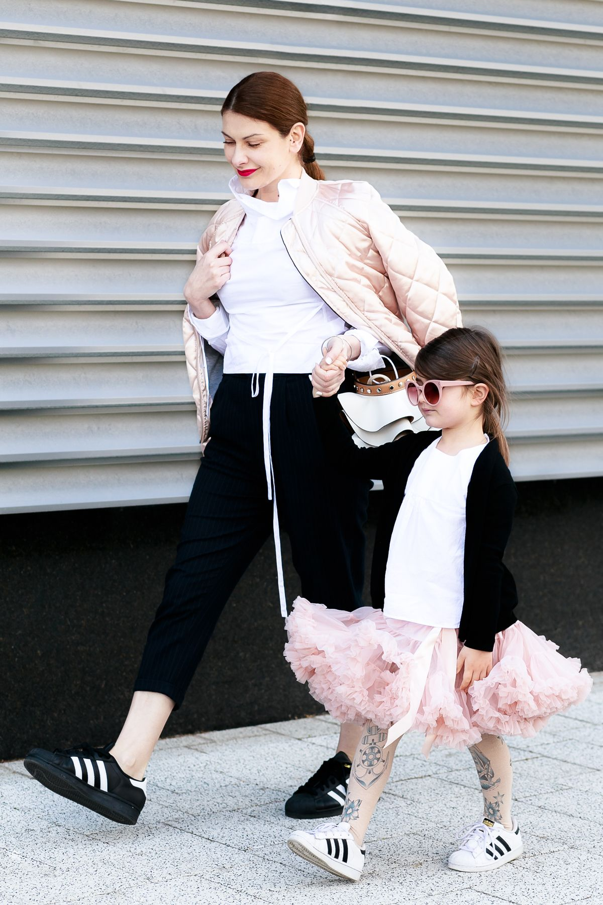 4b3713278d0 What To Wear To Circus Show   Mother - Daughter Mommy and Me Outfit Mini Me  Style feat. Adidas Originals Superstar