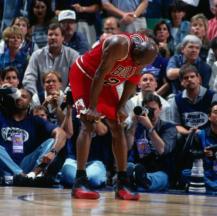 SALT LAKE CITY, UT - JUNE 13: Michael Jordan #23 of the Chicago