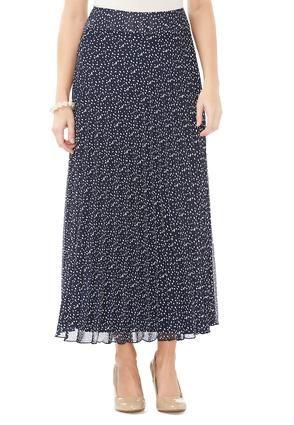 085f6b2ca895b Cato Fashions Polka Dot Pleated Maxi Skirt - Plus  CatoFashions ...