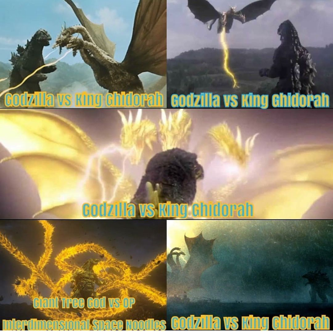 God of the earth Vs OP Interdimensional space noodles ...
